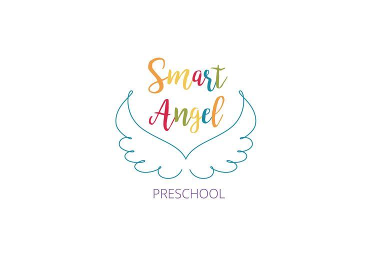 Smart Angel Preschool Logo   | Varró Joanna Design | Logo | Branding | Graphic…