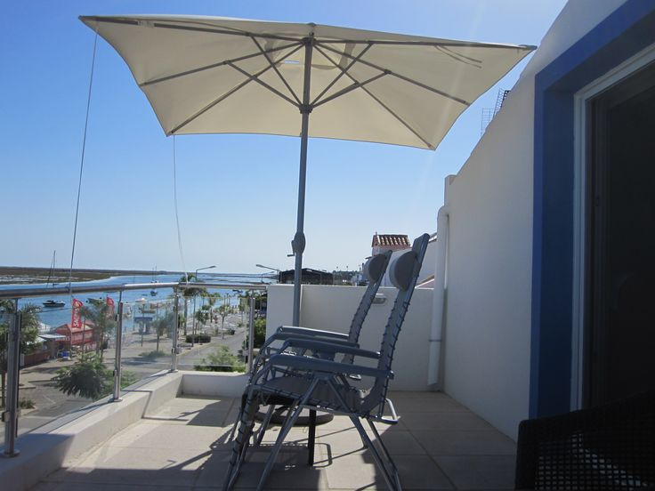 Comfort and shade with the finest views of this part of the #Ria #Formosa