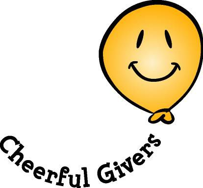Give with a cheerful heart