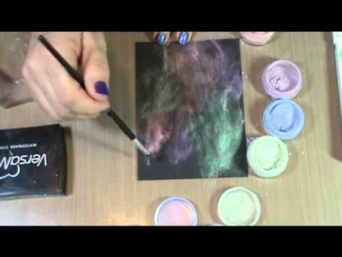 Perfect Pearls Techniques: Stamp Lift - YouTube
