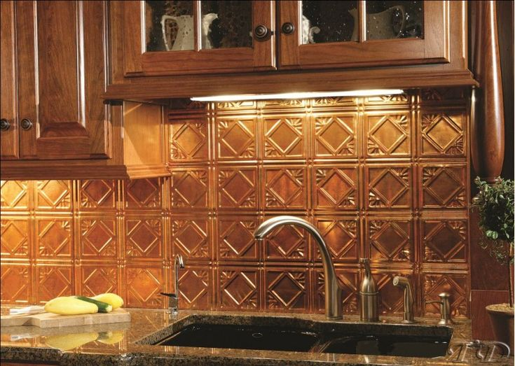 Decorative Tin Backsplash Tiles Mer Enn 25 Bra Ideer Om Copper Backsplash På Pinterest