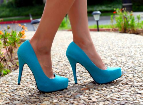 .Baby Blue, Fashion, Style, Wedding Shoes, Colors, Blue Shoes, Something Blue, Blue Heels, Somethingblue