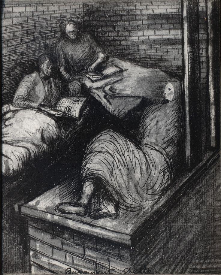 Henry Moore   Shelter Sketch Book  1940s