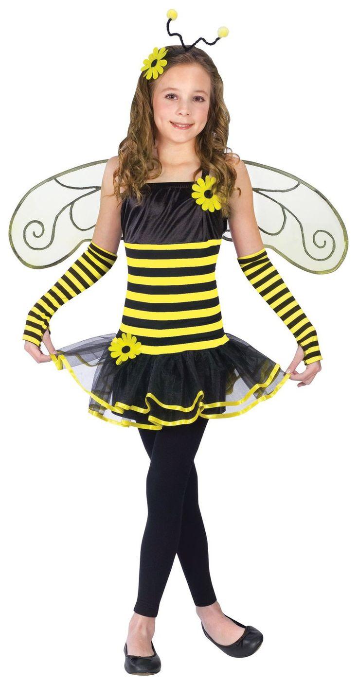 Girls Honey Bee Kids Costume Bumble Bee Costumes.