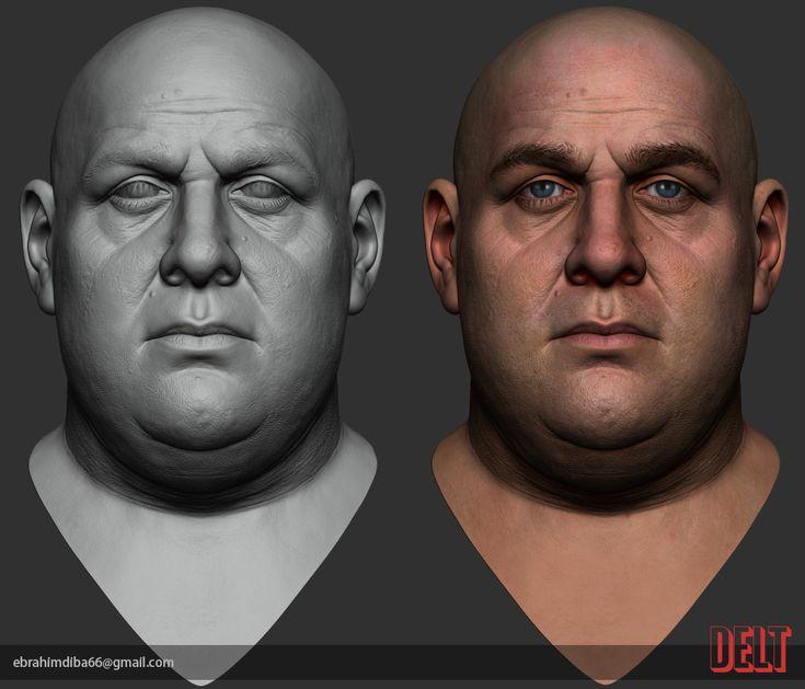 ArtStation - Fat-guy, Ebrahim Diba