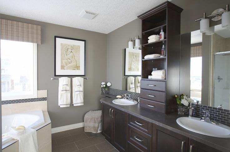 Master Bathroom   WestView Builders   Montrose Calgary   Showhome