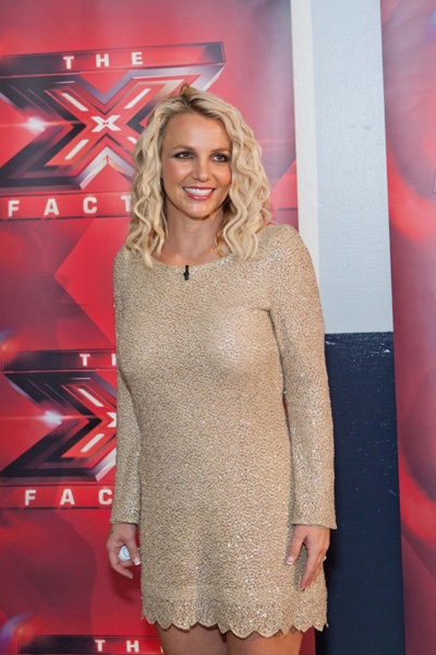 Britney Spears and Demi Lovato are X Factor pals
