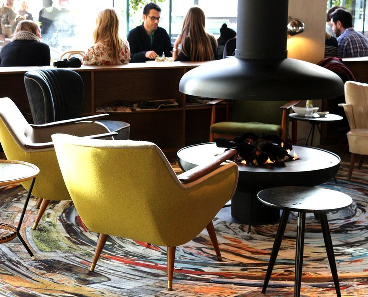 AMSTERDAM CAFES WITH FIREPLACES - Park Cafe Restaurant