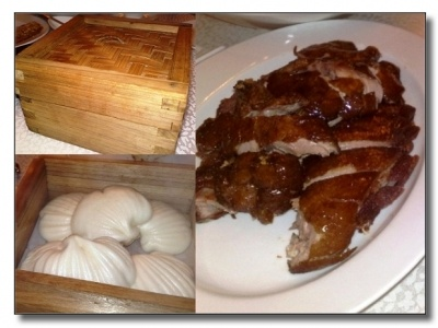 細細隻的『樟茶仔鴨』,賣相方面,相當不俗,皮是微脆,肉質也嫩,可是煙燻味不濃,用暖暖貝殼形的小饅頭來伴吃夾著吃,妙極!