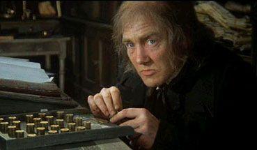 "Ebenezer Scrooge - Albert Finney in ""Scrooge"" (1970)"