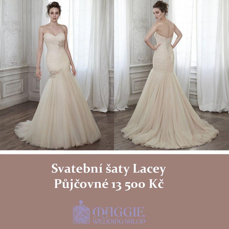 Svatební šaty Lacey, salon Maggie  www.1-svatebni-saty.cz #svatebnisaty #svatba #svatby #svatebnisalon #svatebnistudio #saty #MaggieSottero #nevesta #satypronevestu#moda#svatebnimoda