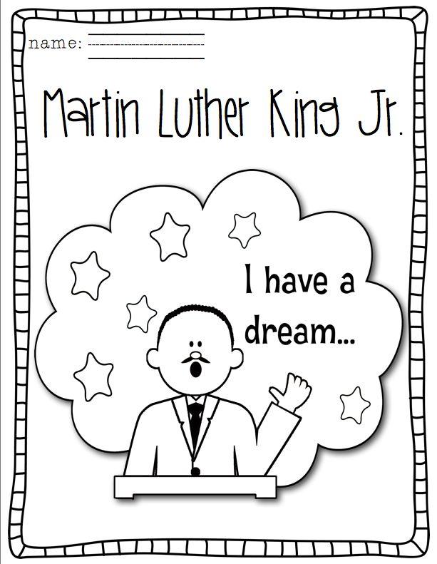 Martin Luther King Jr. Mini Unit | Martin luther king ...