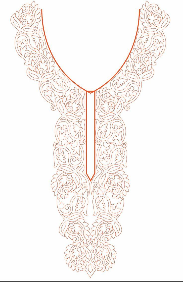 Neck Line design