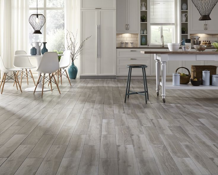 Interested in wood-look tile? Check out Himba Gray Porcelain & more gorgeous, natural-looking options that combine all the beauty of wood with the durability of tile! http://www.lumberliquidators.com/ll/c/Himba-Gray-HD-Porcelain-150X600HIM03/10038545