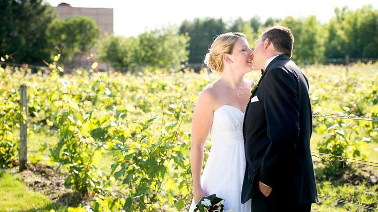 Mariage dans le vignoble à la Cache à Maxime.
