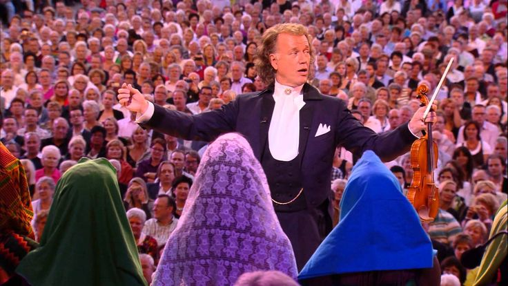 "André Rieu - I Will Follow Him - André Rieu & His Johann Strauss Orchestra performing ""I Will Follow Him"" live in Maastricht."