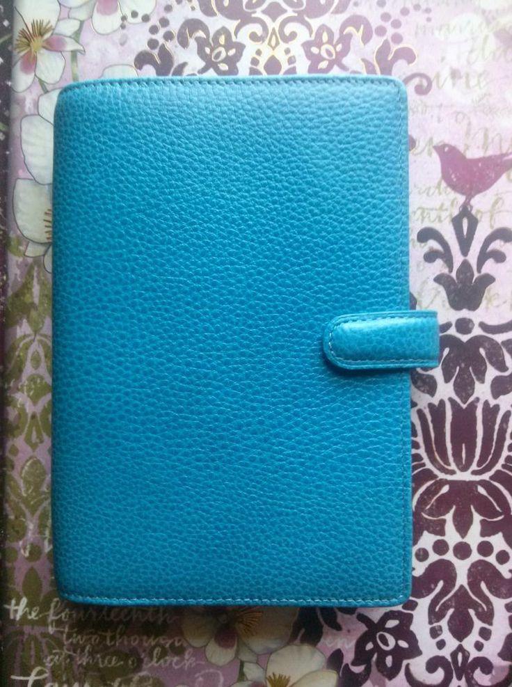 Blue Finsbury Filofax Personal size New Without Box