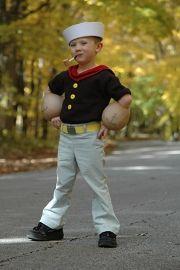 Cute Halloween Costumes for Kids: Popeye