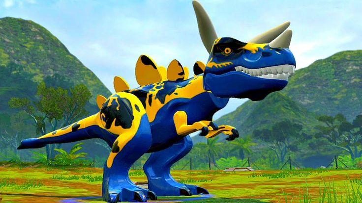 Мир Юрского Периода.Война Динозавров часть 14.Мультики и Игры про Диноза...