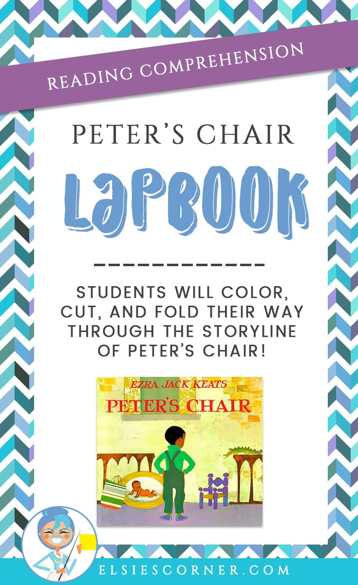 Evaluate your students' reading comprehension with this fun and exciting lapbook activity!  reading comprehension | lapbook ideas | lapbook templates | lapbooks homeschool | lapbook printables | lapbook | reading worksheet | reading strategies | teaching reading | reading comprehension | reading comprehension strategies | reading comprehension 1st | reading comprehension 2nd | Peter s Chair Book | teaching elementary | lesson plan | reading lesson | reading lesson plans | elementary…