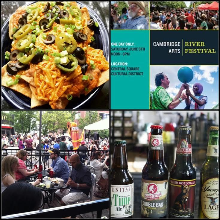 June 6, 2015:  It's RIVER FESTIVAL today, & since it happens right outside our door/patio on Mass. Ave., we're celebrating by offering our Blue Plate Special (normally just on our Dinner menu) Nachos ALL DAY LONG!  Grab a seat on the patio and enjoy the show.