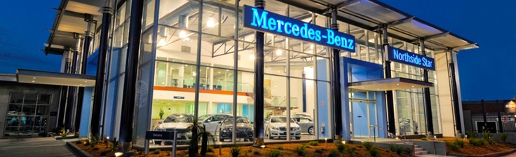 Glass Mercedes Dealership