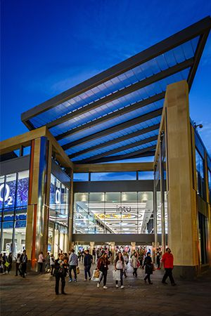Helvar lights the way for shoppers and intu Eldon Square