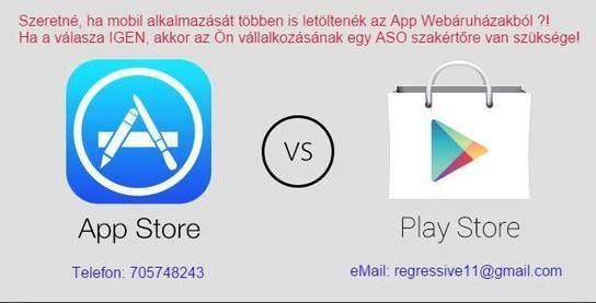 Alkalmazások optimalizálása az app store-okban #scoop