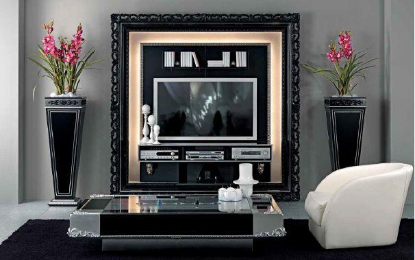 гостиная Vismara в стиле барокко 3 — мебель и аксессуары дизайн-студии Мирабель