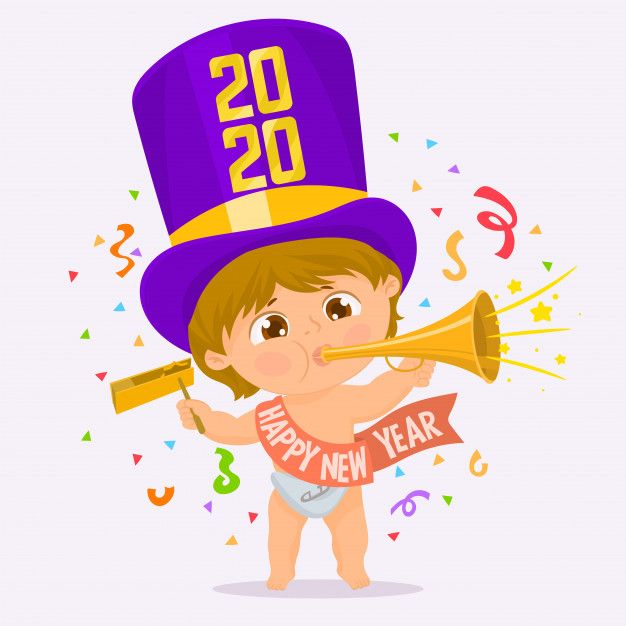 Happy New Year 2020 Baby Pictures Ideas New Year Kids Happy New Year Pictures Happy New Year Quotes Happy New Year Baby
