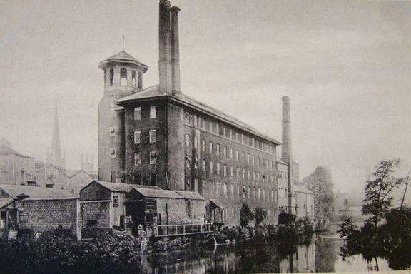 Derby Silk Mill 73 - OLD PHOTOS OF DERBY