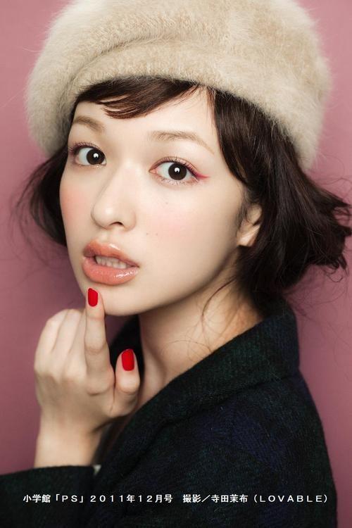 森絵梨佳 Erika Mori Japanese model