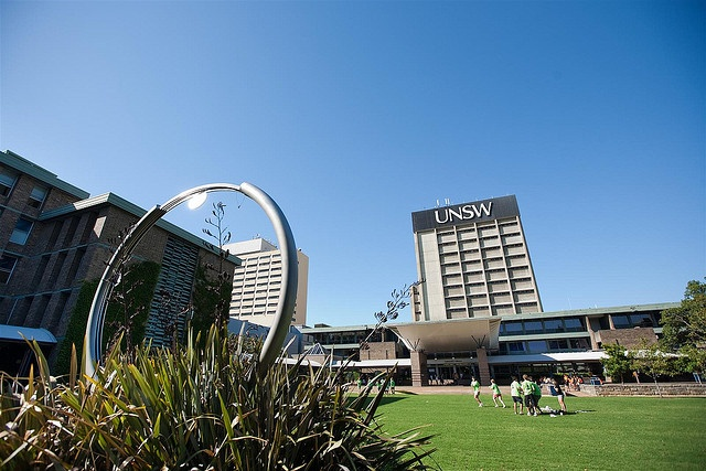 UNSW- Bachelor of Construction Management and Property  (Your hobbies)