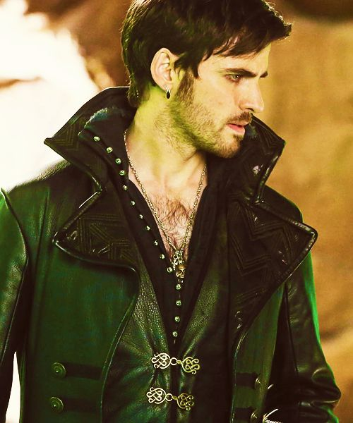 Captain Hook Once Upon A Time: Colin O'Donoghue -- Hook