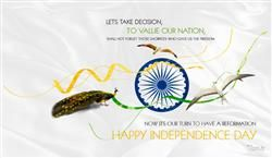 Happy Independence Day With Quotes HD Wallpaper,Ashok Chakra Hd Wallpaper,Independence Day FB Cover Page HD…