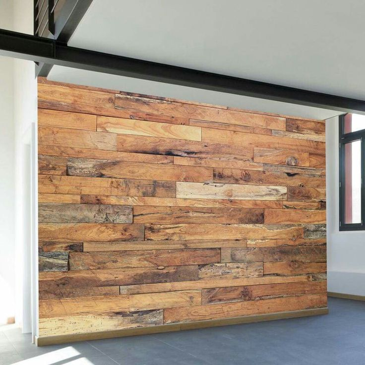 Para una pared en casa bello palets pinterest for Decoracion de palets