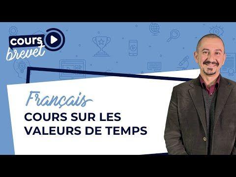 Cours de Français 3ème sur les valeurs des temps (avec des ...