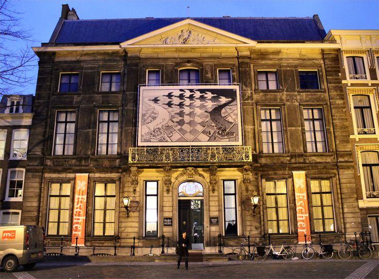 Escher museum Den Hague Netherlands