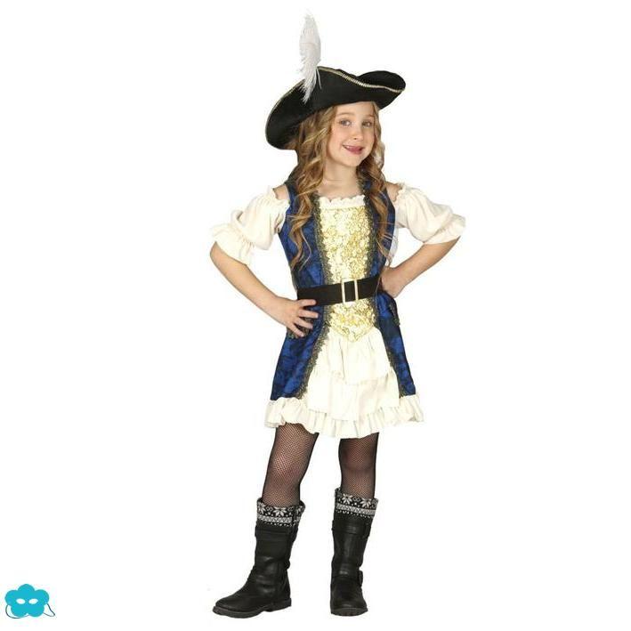 Disfraz De Pirata Corsaria Para Niña Disfraz De Pirata Disfraces De Chicas Piratas Disfraz Pirata Niño