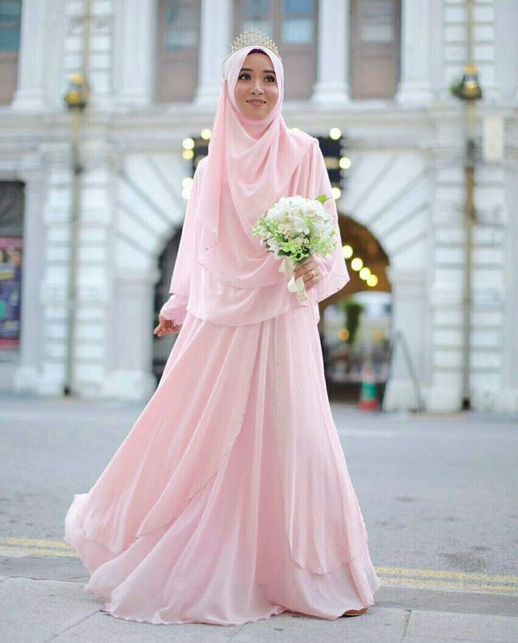 Misty rose colour @muslimahexclusive