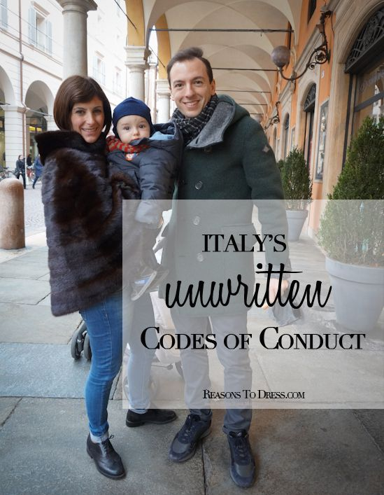 Northern Italian Street Style + Italy's unwritten Codes of Conduct, when to snack and how to dress! From the lifestyle blog reasonstodress.com