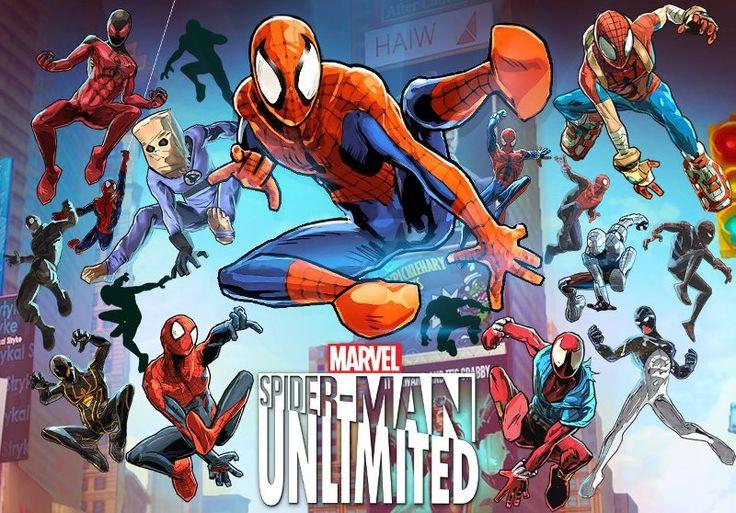 Download Game Spider Man Unlimited Gratis