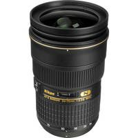 Nikon AF-S Nikkor 24-70mm f/2.8G ED Autofocus Lens    This is my Go To lens that I keep on my camera.