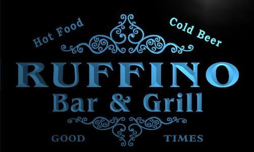 u38602-b RUFFINO Family Name Bar & Grill Home Brew Beer Neon Sign Enseigne Lumineuse: Authorized Seller with best quality. Use the highest…