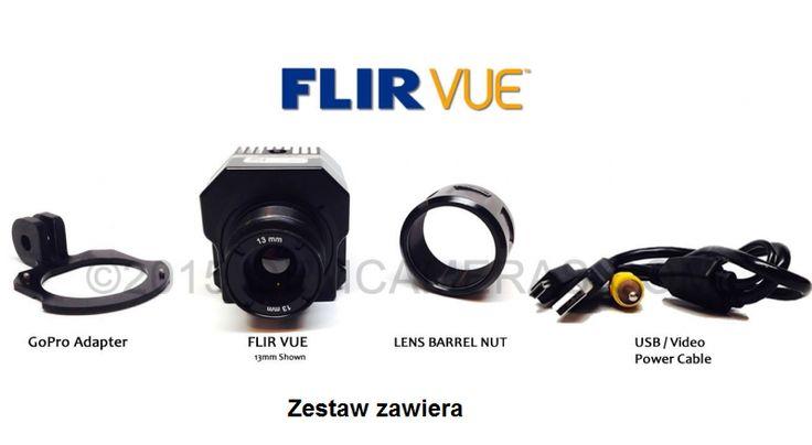 Euro Pro Group| Kamery Termowizyjne FLIR – Termowizja – Kamera termowizyjna FLIR VUE™ dla dronów