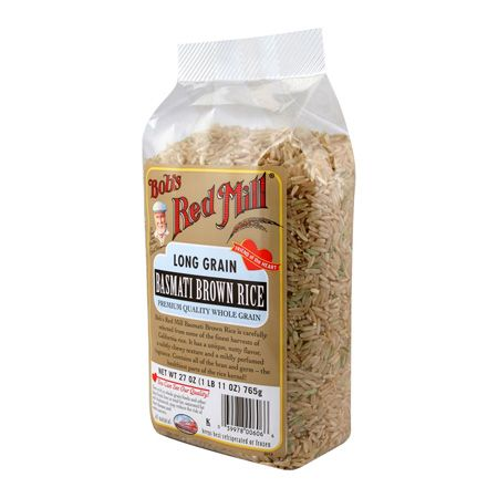 """Basmati Brown Rice   ~  THIS WAS OUR FAVORITE RICE FOR A LONG TIME, UNTIL WE TRIED THE """"COUNTRY BLEND"""" RICE.  BUT WE STILL VERY MUCH ENJOY IT. IT IS AN EXCELLENT RICE, AND SMELLS OF POPCORN WHILE COOKING."""