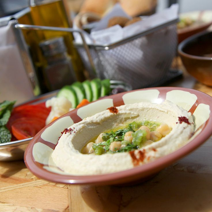 The traditional Hummus!