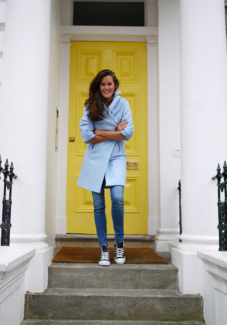 Shades of Blue - The Londoner I absolutely COVET this coat.  I would do anyyythingggg to own it.