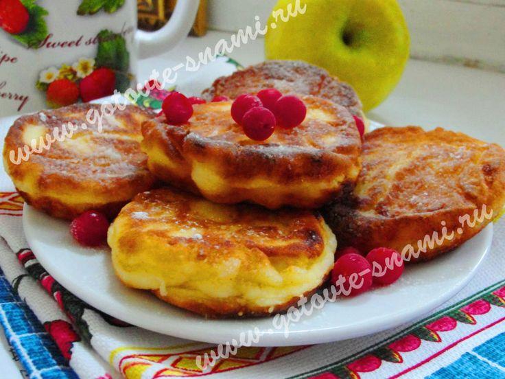 Вкусные сырники на сковороде   Готовьте с нами