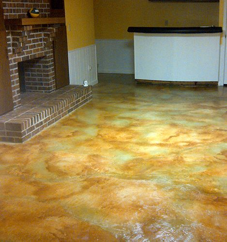 65 Best Acid Stained Concrete Floors Images On Pinterest